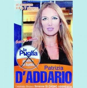 Patrizia DAddario candidata nella lista civica del PDL