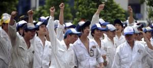 Sciopero in Cina