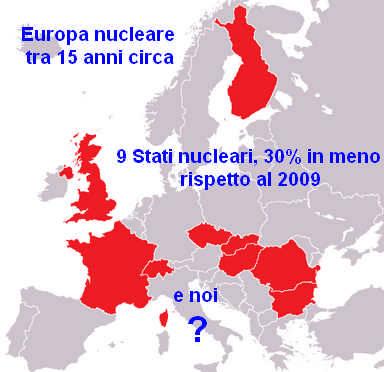 Europa nucleare tra 15 anni