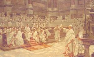 Persiceto caffe immagine  senato romano
