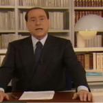 Berlusconi in videomessaggio