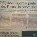 """Philiph Morris, multinazionale """"a rischio altamente ridotto""""?"""